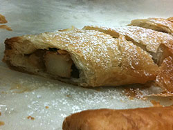 Pear-Cranberry Strudel